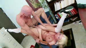 anal while husband watches